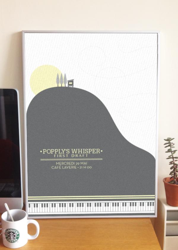 POPPLY'S WHISPER POSTER
