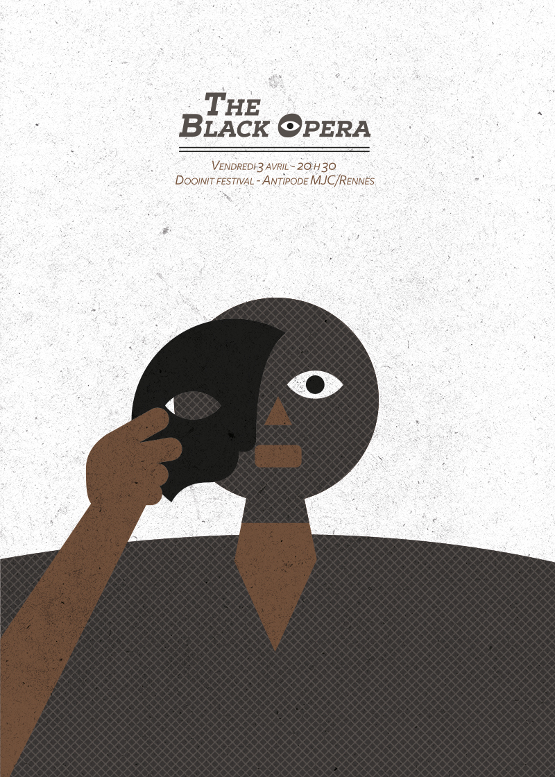 THE BLACK OPERA GIG POSTER