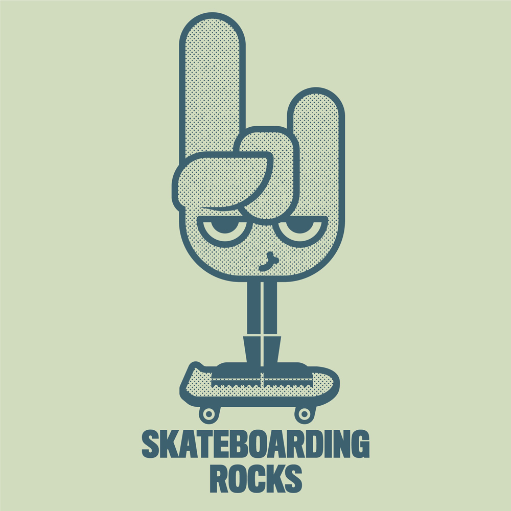 SKATEBOARDING ROCKS