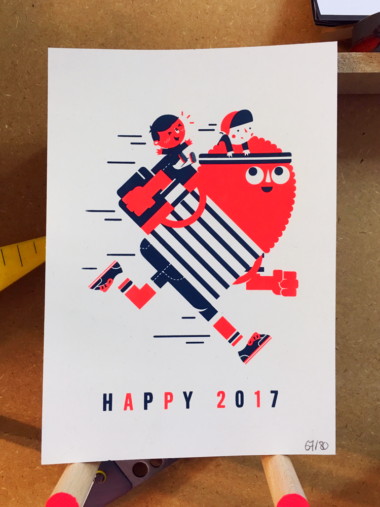 GREETINGS CARD 2017