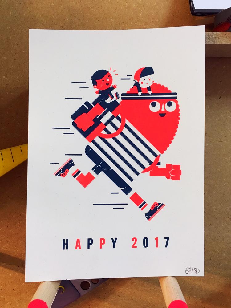 GREETINGS CARD 2017