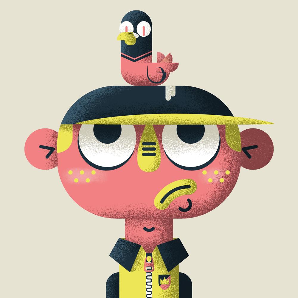 GARÇON & PIGEONS