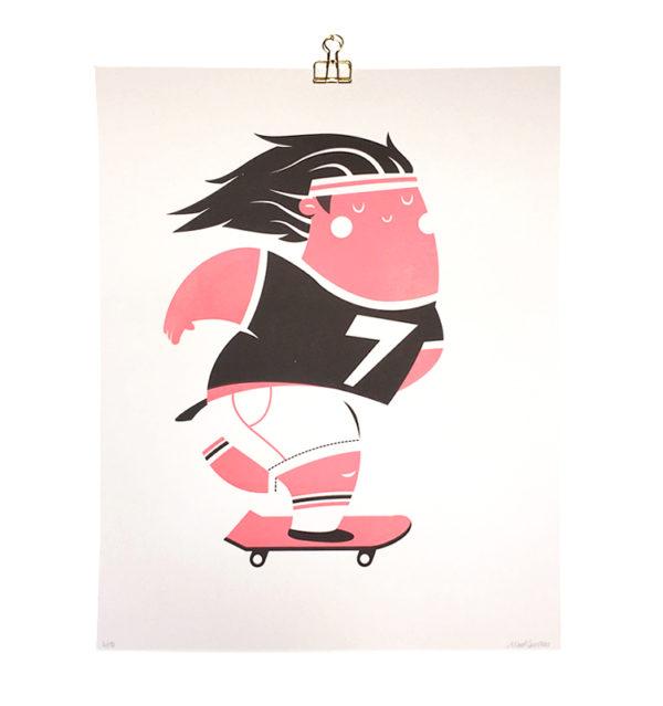 Plump skater poster