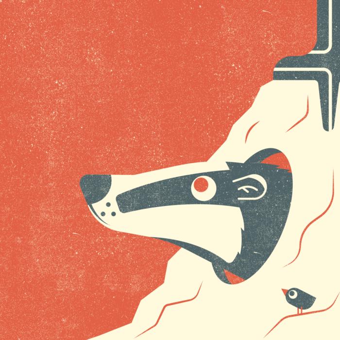 14.Badger-the-jungle-illustration-wood-campers