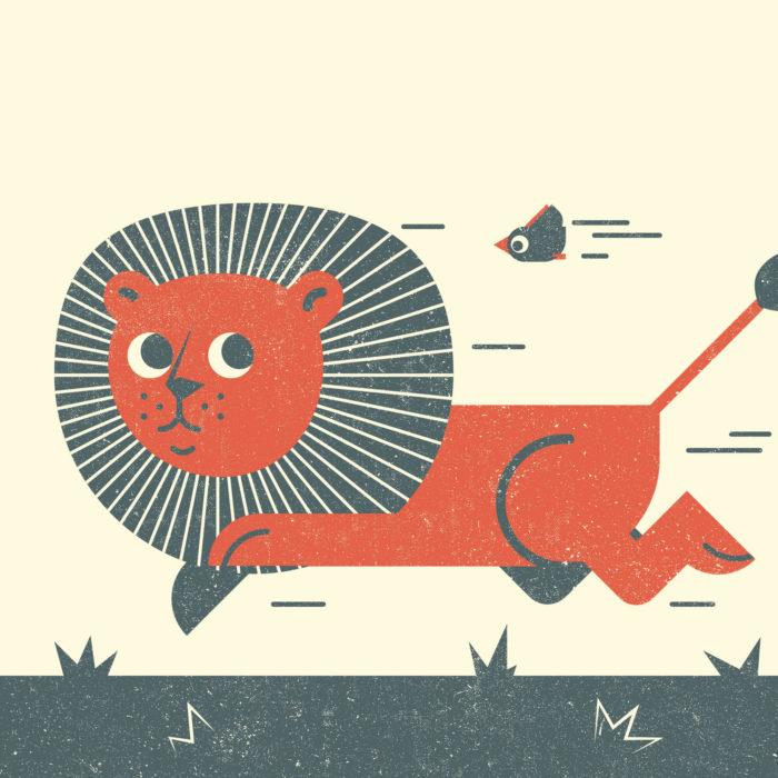 4.Lion-the-jungle-illustration-wood-campers