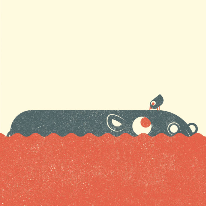 9.Hippo-the-jungle-illustration-wood-campers